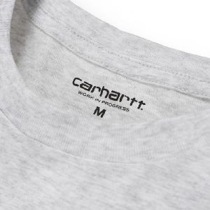 Camiseta Carhartt College Script LT Ash Heather