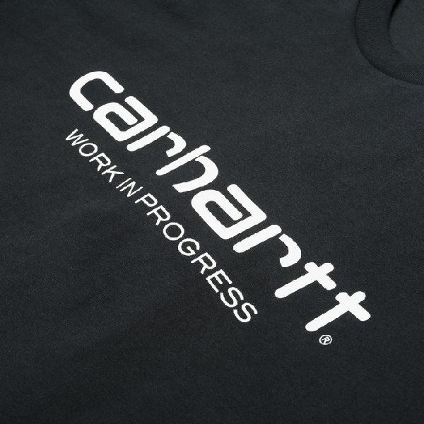 Camiseta Carhartt Wip Script Black White