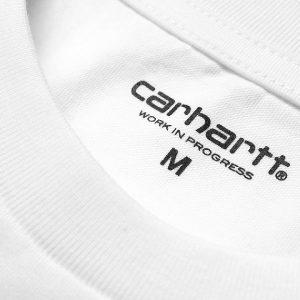 Camiseta Carhartt Wip Script White