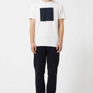 Camiseta Loreak Mendian Cuadrado White