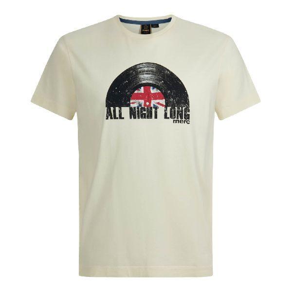 Camiseta Merc Mickleton Vintage White